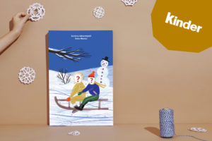 Adventskalender Juchhee, Schnee! Kinderschokolade