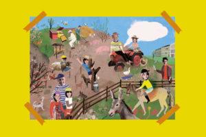Personalisiertes Poster Bauernhof